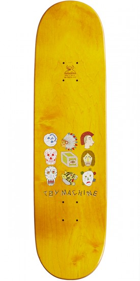 Toy Machine Luthernan Spirits Skateboard Deck - 8.50""