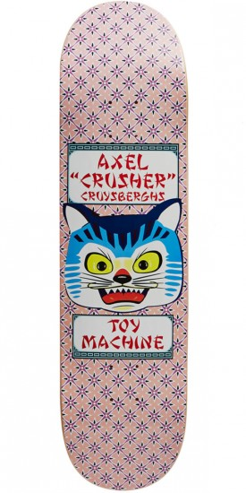 Toy Machine Axel Crysbergh Cat Skateboard Deck - 8.25""
