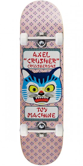 """Toy Machine Axel Crysbergh Cat Skateboard Complete - 8.25"""""""