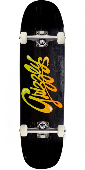 """Grizzly Wet Script Cruiser Skateboard Complete - 8.375"""""""