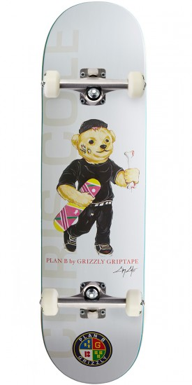 """Grizzly X Plan B Cole Skateboard Complete - 8.50"""""""