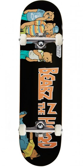 Grizzly X Skate Mental Bearz N The Hood Skateboard Complete - 8.00""