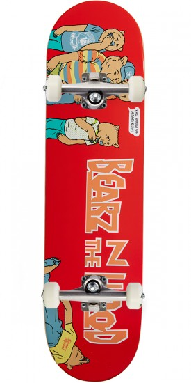 Grizzly X Skate Mental Bearz N The Hood Skateboard Complete - 8.25""