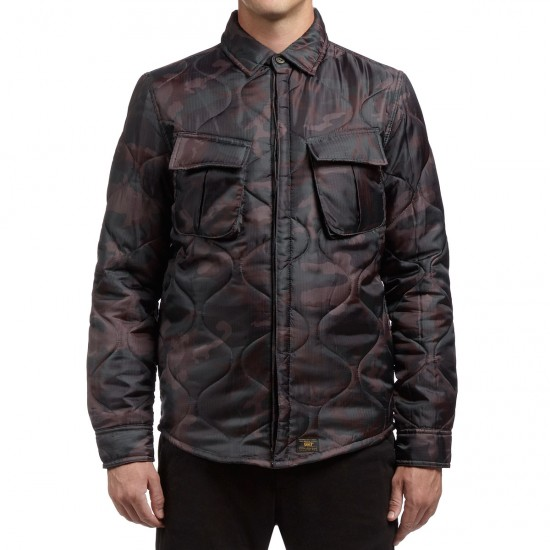 HUF BDU Shirt Jacket - Woodland