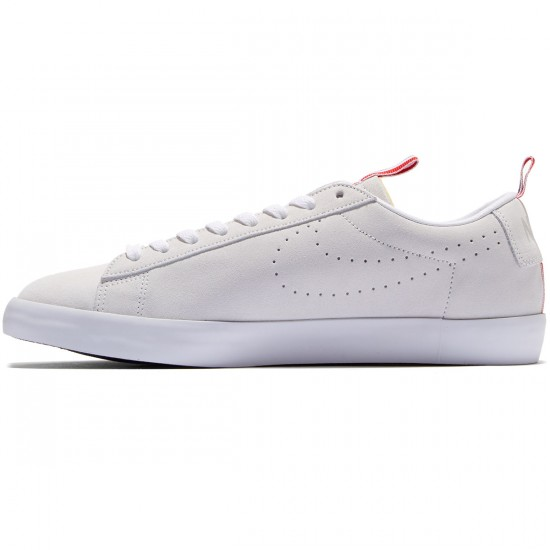 Nike SB X 917 Blazer Low Premium QS Shoes - White/White/Obsidian - 6.0