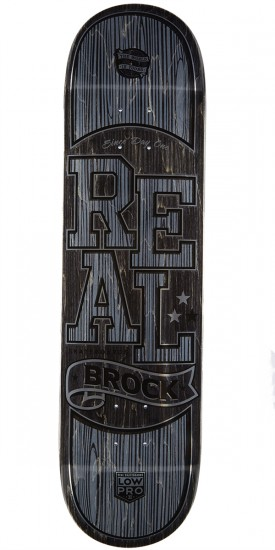 Real Brock Timber LowPro 2 Skateboard Deck - 8.06""