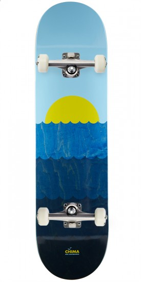 Real Chima Wave Skateboard Complete - 8.18""