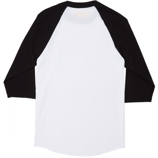 Anti-Hero Engineering 3/4 Sleeve T-Shirt - White/Black