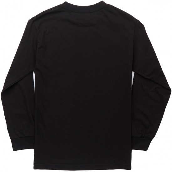 Anti-Hero Lil Blackhero Long Sleeve T-Shirt - Black