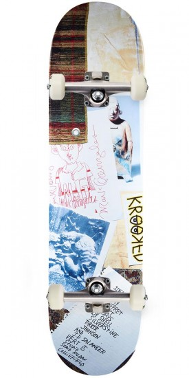 Krooked Gonz Collage Skateboard Complete - 8.06""