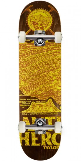 """Anti-Hero Taylor Gnarchaeology Skateboard Complete - 8.38"""""""