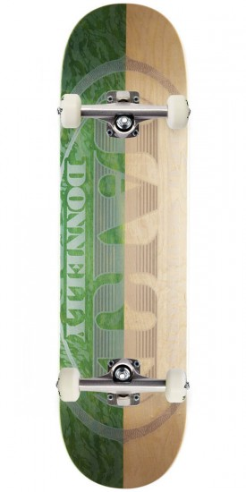 Real Donnelly Premium Pro Oval Two Tone Skateboard Complete - 8.25