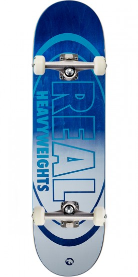 "Real Heavyweights Skateboard Complete - 8.38"" - Blue"