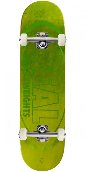 """Real Heavyweights Skateboard Complete - 8.50"""" - Lime Green"""