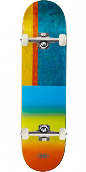 Real Chima Exclusive Embossed Skateboard Complete - 8.12""