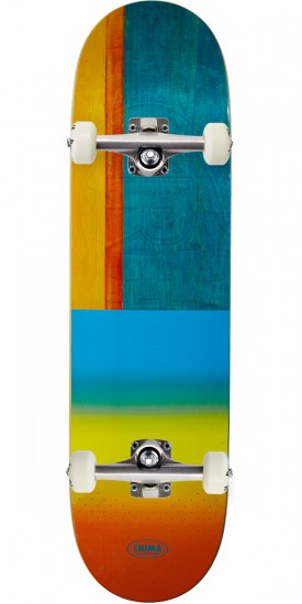 """Real Chima Exclusive Embossed Skateboard Complete - 8.50"""""""