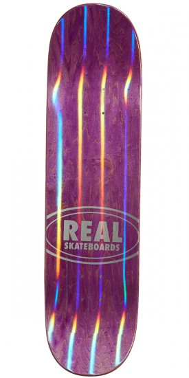 """Real Busenitz Holographic Oval Skateboard Complete - 8.50"""""""