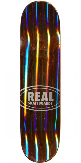 Real Chima Holographic Oval Skateboard Deck - 8.25""