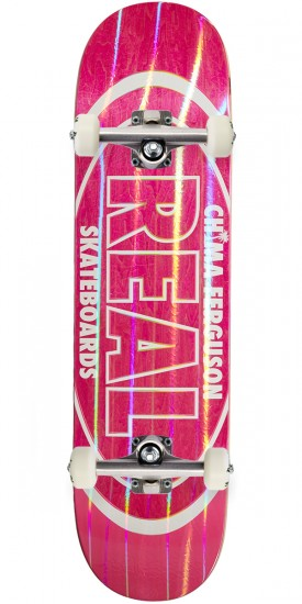 """Real Chima Holographic Oval Skateboard Complete - 8.25"""""""