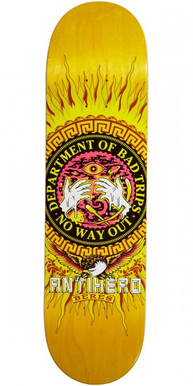 Anti-Hero Beres State of Mind Skateboard Deck - 8.40""