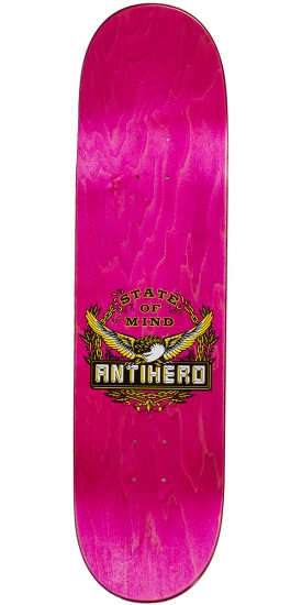 Anti-Hero Russo State of Mind Skateboard Deck - 8.25""