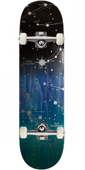 Real Davis North Star Skateboard Complete - 8.25""