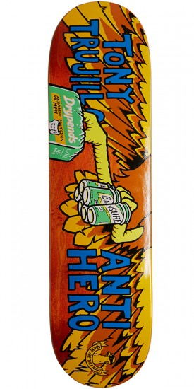 Anti-Hero Trujillo Where Are They Now Skateboard Deck - 8.40""