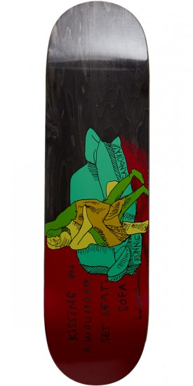 Krooked Ronnie Kissers Skateboard Deck - 8.62