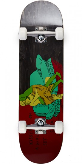 Krooked Ronnie Kissers Skateboard Complete - 8.62