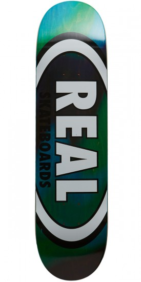 Real Tie Die Oval Skateboard Deck - 8.06