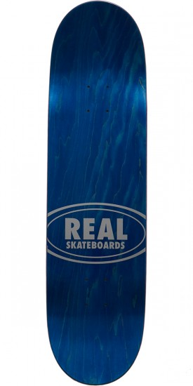 Real Tie Die Oval Skateboard Deck - 8.5