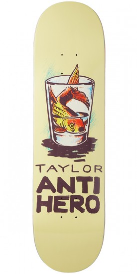 Anti Hero Taylor Overcrowding Skateboard Deck 8 12 Quot