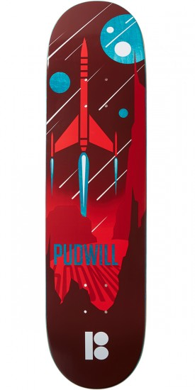 Plan B Pudwill Light Year Skateboard Deck - 8.00""