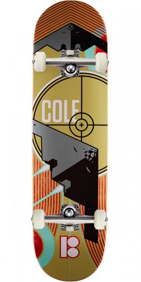 Plan B Cole Light Year Skateboard Complete - 8.375""