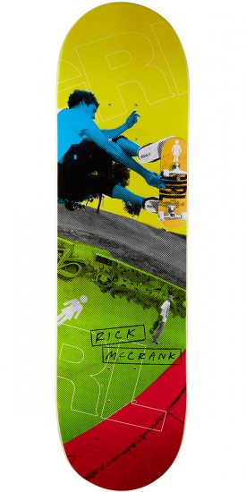 Girl McCrank 20/20 Skateboard Deck - 8.375""