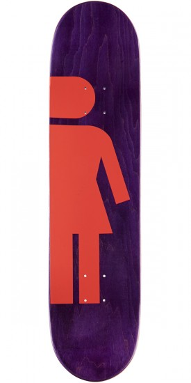 Girl Carroll Hardcourt Skateboard Complete - 8.00""