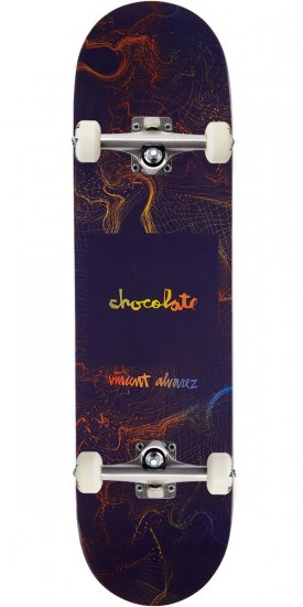 Chocolate Alvarez Gravity Skateboard Complete - 8.25""