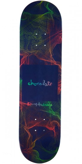 Chocolate Anderson Gravity Skateboard Deck - 8.125""