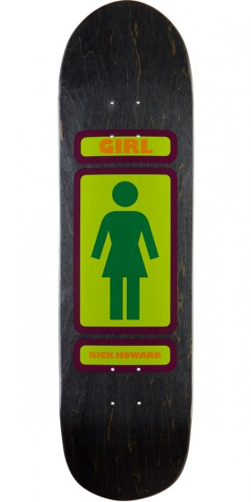 Girl Howard 93 Til Powerslide Skateboard Deck - 8.50""