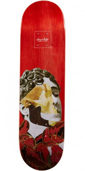 Chocolate Alvarez Dru Collage Skateboard Deck - 8.25""