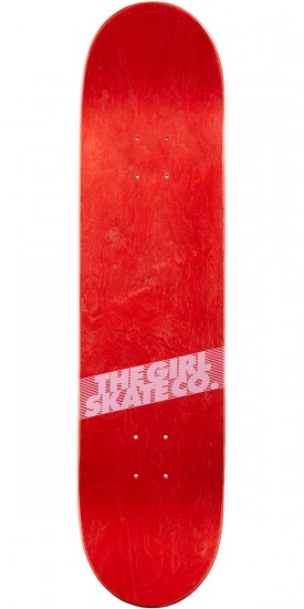 Girl Biebel Couch Potatoes Skateboard Deck - 8.00""