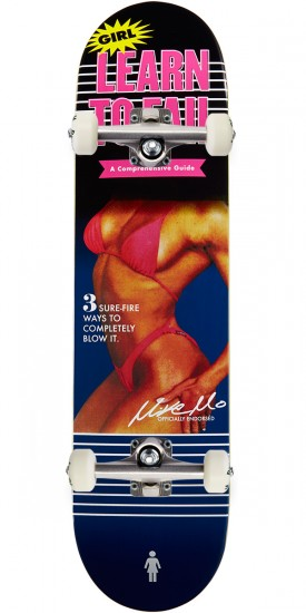 Girl MikeMo Couch Potatoes Skateboard Complete - 7.875""