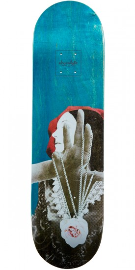 Chocolate Tershy Dru Collage Skateboard Deck - 8.375""