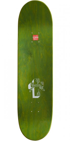 Chocolate Alvarez Lupitas Chunk Skateboard Deck - 8.375""