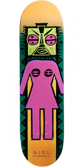 Girl Carroll Tiki OG Skateboard Deck - 8.375""