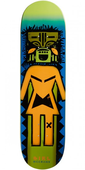 Girl McCrank Tiki OG Skateboard Deck - 8.50""