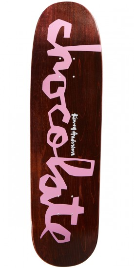 Chocolate Anderson Original Chunk Skateboard Deck - 8.50""