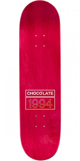 Chocolate Tershy Palette Skateboard Deck - 8.50""