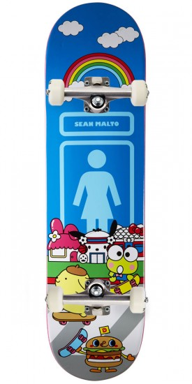Girl Malto Sanrio World Skateboard Complete - 8.125""
