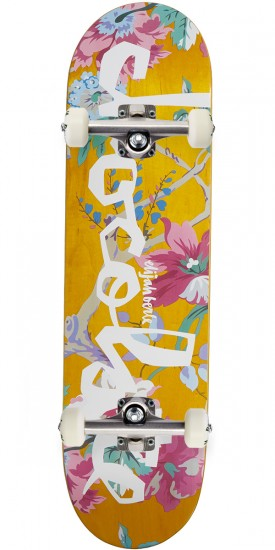 """Chocolate Berle Floral Chunk Skateboard Complete - 8.375"""""""